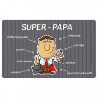 Frühstücks-Brettchen - Tablett Super-Papa