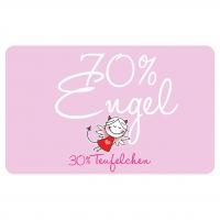 Frühstücks-Brettchen - Engel 70%