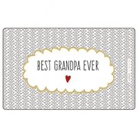 Frühstücks-Brettchen - Tray Best Grandpa