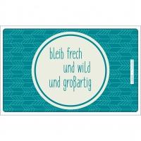 Frühstücks-Brettchen - Sei Wild