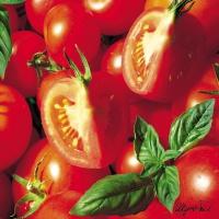 Servietten 33x33 cm - Gemischte Tomaten