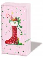 Taschentücher Christmas Boot *
