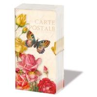 Taschentücher Vintage Butterfly