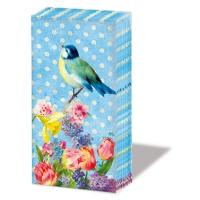 Taschentücher - Vintage Bird *