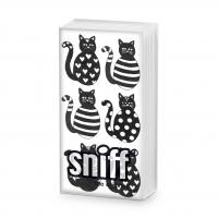 Taschentücher - Sechs Katzen