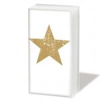 Taschentücher Star Fashion gold *