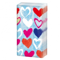 Taschentücher Paper Hearts