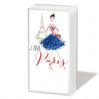 Taschentücher Paris City Girl