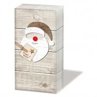 Taschentücher Santa Red Nose *