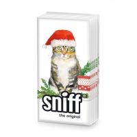 Taschentücher - Christmas Kitty