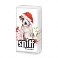 Taschentücher - Christmas Pup