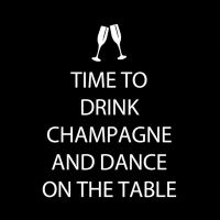 Servietten 25x25 cm - Drink Champagnecm