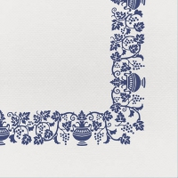 50 Tissue Servietten 40x40 cm - Country Blue