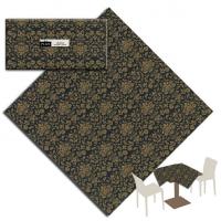 25 Tischdecken 100x100 cm VICTORIA Nero