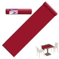 20 Tischläufer 40x120 cm UNICOLOR Bordeaux