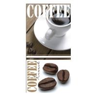 12 Servietten 33x33 cm - Coffeetime