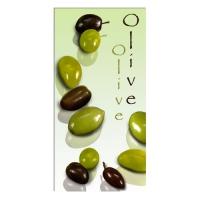 12 Servietten 33x33 cm - Olive