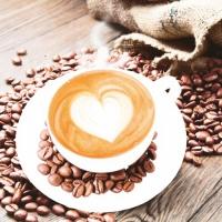 20 Servietten 33x33 cm - Coffee