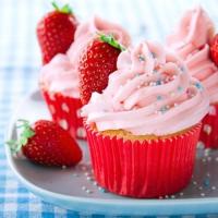 20 Servietten 33x33 cm - Sweet Cupcake