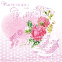 20 Servietten 33x33 cm - Parfumerie