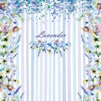 20 Servietten 33x33 cm - Lavender Style