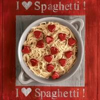 20 Servietten 33x33 cm - I love Spaghetti!