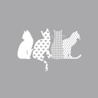 20 Servietten 33x33 cm - Cats
