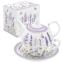 Teekanne - Lavender Field