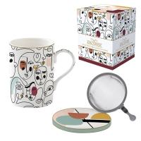 Porzellan-Tasse - Coffee Mania - MODN