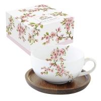 Porzellan-Tasse - Sakura
