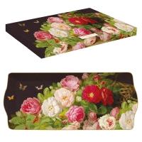 Porzellan-Platte 35cm - Victorian Garden