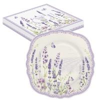Porzellan-Teller 20cm - Lavender Field