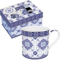 Porzellan-Tasse - Azulejo