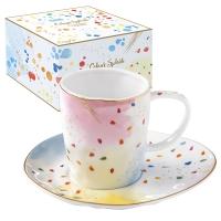 Porzellan-Tasse - Color Spash