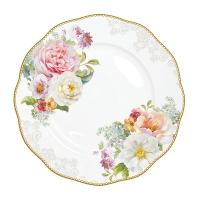 Porzellan-Teller 27cm - Romantic Lace