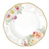 Porzellan-Teller 22,5cm - Romantic Lace
