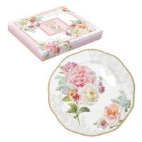Porzellan-Teller 19cm - Romantic Lace