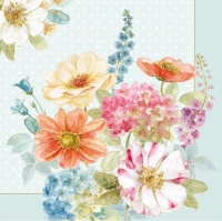 Servietten 33x33 cm - COTTAGE FLOWERS