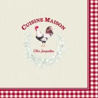 Lunch Servietten CUISINE MAISON