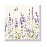 Servietten 33x33 cm - Lavender Field