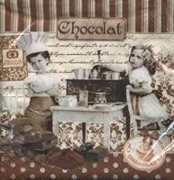 Lunch Servietten Maitres Chocolatiers