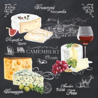 Lunch Servietten WORLD OF CHEESE