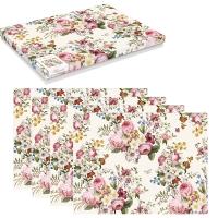 Kork Tischsets - Blooming Opulence