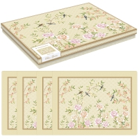 Kork Tischsets - Palace Garden floral