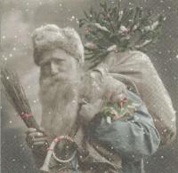 Lunch Servietten Santa