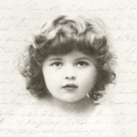 Servietten 33x33 cm - Sweet Girl