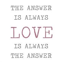 Servietten 33x33 cm - Always Love