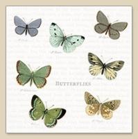 Cocktail Servietten Butterflies