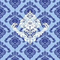Linclass Dinner Servietten - GIORGIO blau