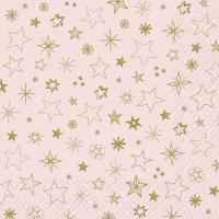 Servietten 33x33 cm - Alais rosa hell